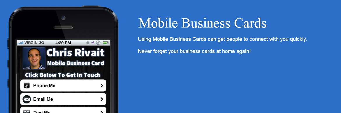 Mobile Business Cards